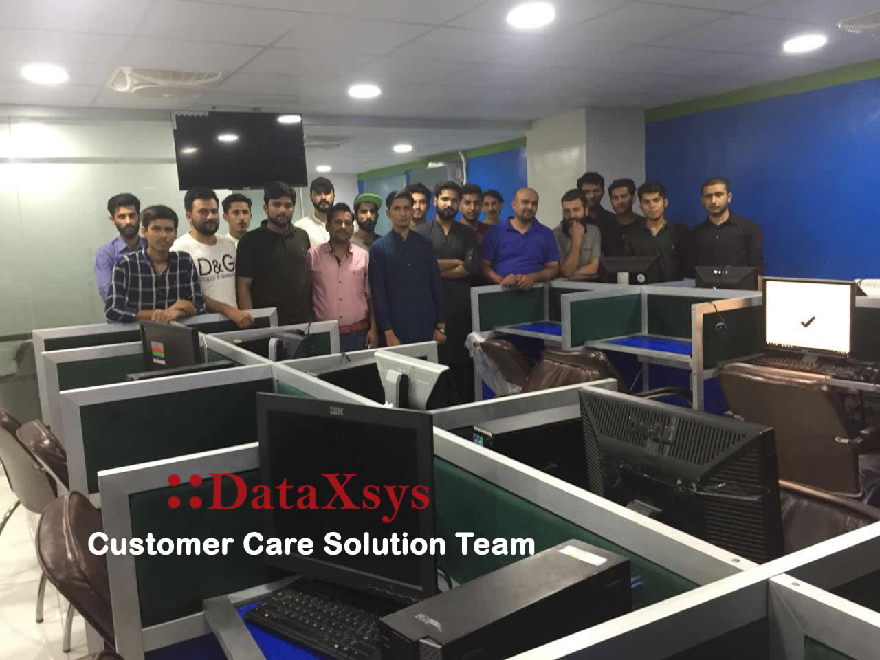 DataXsys Customer care solution